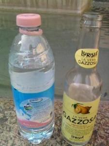 Acqua e Gazzosa Lurisia Slowfood